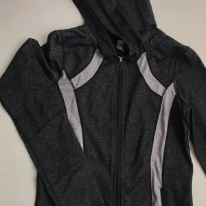 Sweaters - Campus crew athletic zip up sweater with pockets
